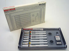 KOH-I-NOOR Rapidograph 3165-SP7 Set of 7 Technical Pens Made In USA NEW IN BOX