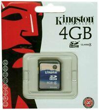 NEW Kingston 4GB SDHC Card Class 4 - SD4/4GB