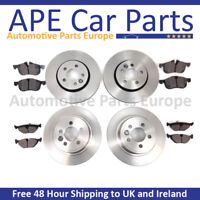 FRONT & REAR BRAKE DISCS & PADS SET NEW FOR TOYOTA COROLLA VERSO 2.2 D-4D 05-09
