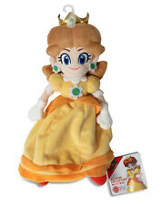 "NEW Sanei Super Mario All Star Collection AC06 Stuffed Plush Doll - 9.5"" Daisy"