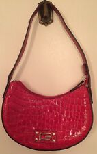 1 Beautiful Authentic handbags Red baguette by Guess.