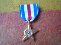 SILVER STAR MEDAL FOR GALLANTRY IN ACTION