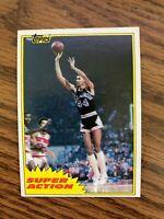 1981-82 Topps #W106 George Gervin San Antonio Spurs  ExMt