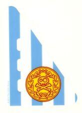 LEGO - Duplo Boat Sail 5 x 7 w/ Stripes & Medallion w/ Gold Skull & Crossbones