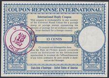 U.S., 1957.  Int'l Reply Coupon 13c, Ukiah, Ca.