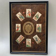 Antique Montage Collage Charles Green Shaw Italian Minchiate Playing Cards