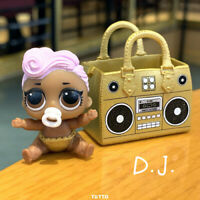 LiL Sisters D.J. DJ HIP HOP CLUB SERIES 2 Dolls With Bag