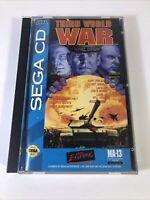 Third World War (Sega CD, 1994). COMPLETE.
