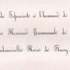 Emmanuel Le Chat De Tessecourt Haudebert Saint-Paterne 1862