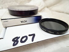 Hoya 49mm  Polarizer Filter PL- cleaned and checked ref 807