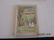Rare THE VERY REAL TRUTH ABOUT CHRISTMAS tiny hc Bernice Harris 1961 1st edn