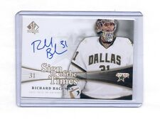 2011-12 UD SP AUTHENTIC RICHARD BACHMAN SIGN OF THE TIMES AUTOGRAPH AUTO