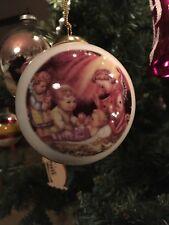 M.J. Hummel Reutter Porzellan Christmas ornament Silent Night, Candleholder