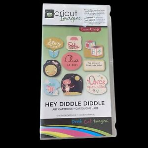 Hey Diddle Diddle Cricut Imagine Cartridge New Unlinked 2011 Provo Craft