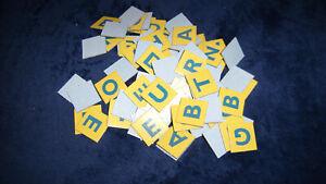 101 Scrabble Junior Letter Tiles (1999), Replacement Parts or Arts & Crafts