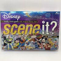 Complete Scene It Disney 1st Edition DVD 2004 Board Game