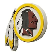 New NFL Washington Redskins 3D Fan Foam Logo Holding / Wall Sign Made in USA