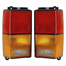 New Pair of Tail Lights Left and Right Fits 1984-1996 Jeep Cherokee