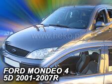 HEKO Windabweiser FORD MONDEO 4/5 türig 2001 - 2008 2-tlg Regenabweiser 15248