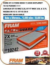FRAM CA10242 Engine Air Extra Guard Filter Fit Ford / Lincoln / Mazda / Mercury