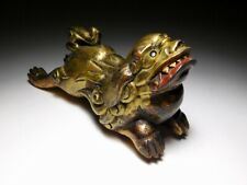 RARE MAEDATE for Kabuto Armor Japanese Edo Original Antique