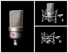 Neumann TLM103 Anniversary Microphone Shockmount and Flight Case