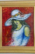 Andrée Ercole - Dame au chapeau.