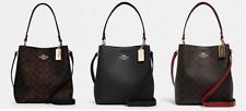 Coach Town Bucket Bag signature or leather 81512 91122 satchel tote handbag