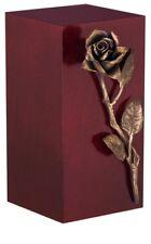 unico di design Urna cremazione ROSA- FUNERALE per adulto CENERI (ARTE 16b)