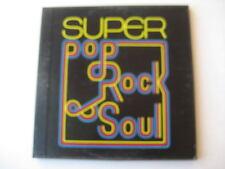 """VARIOUS ARTISTS  """"Super Pop Rock & Soul""""  (5 LP Boxed Set)"""