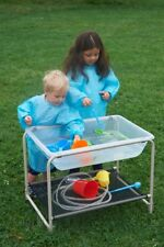 Water and Sand Clear Plastic Tray with Stand Kids Exploration & Sensory Play