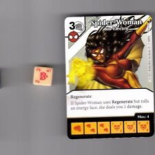 DICE MASTERS AMAZING SPIDER-MAN COMMON #70 SPIDER-WOMAN BIO-ELECTRIC