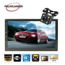 7'' Car Radio  TF/TOUCH SCREEN 2 DIN Bluetooth CPU 1 GB RAM Android 4.4 +Camera