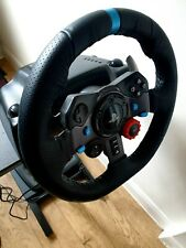 Logitech G29 Steering Wheel with Pedals and New racing frame for PS4