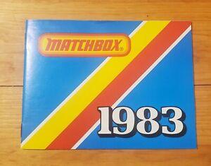 1983 MATCHBOX POCKET CATALOG - BRAND NEW - FREE SHIPPING !