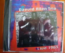 Daevid Allen Trio Live 1963 CD NEW SEALED Gong Hugh Hopper/Robert Wyatt
