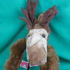 "Big 24"" Mac Molly Christmas Moose Poseable Antler Plush Brown Stuffed Animal"