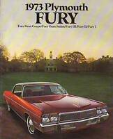 1973 Plymouth Fury Sales Catalog - new from dealer