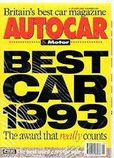 AUTOCAR & MOTOR 10 November 1993 - Road Test: Land Rover Discovery 3.9 V8