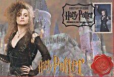 """""""Lestrange"""" Harry Potter Stamp FDC on 4x6 Postcards Easily Framed Orlando 11/19"""