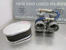 Mikuni 38mm Round Slide Carburetors