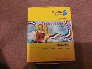 Rosetta Stone Complete Italian Course