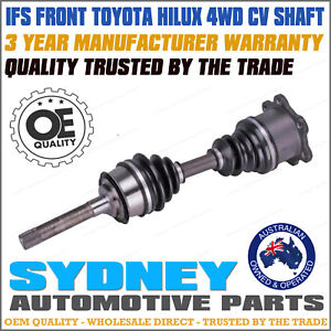 CV Shaft for Toyota Hilux (Standard) IFS LN107 LN167 LN169 RZN174 KZN165 VZN167