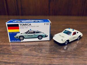 Tomica F16-1-1 Porsche 911S Police Car Polizei