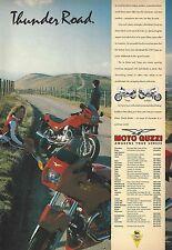 Moto Guzzi Targa & Le Mans - a Genuine 1991 'What Bike' Vintage Magazine Advert
