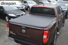 To Fit 2016+ Nissan Navara NP300 Tri Fold Soft Tonneau Cover Double Cab No Drill