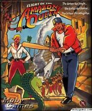Flight of the Amazon Queen PC CD crash land remote jungle adventure puzzle game!