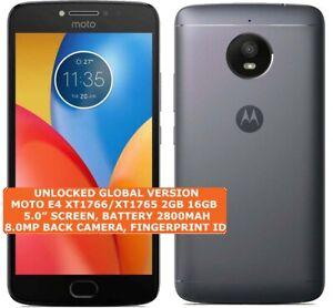 """MOTOROLA MOTO E4 XT1766/XT1765 2gb 16gb Quad-Core 8mp Fingerprint 5.0"""" Android"""