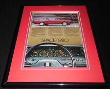 1980 Toyota Corolla SR 5 Coupe Framed 11x14 ORIGINAL Vintage Advertisement