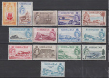 Gibraltar 1953 Mint Mounted Set to £1 Cat £180